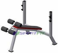 Скамья для жима под углом вниз Sport Fit (1111)
