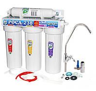 Система для очистки воды с капеллярной мембраной «РОСА-238» UF, 4 степени очистки