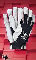 Защитные перчатки RLEVEREST. Перчатка рабочая из лицевой кожи, фото 1