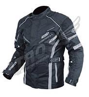 Мотокуртка текстильная Atrox NF-7155 Цвет Черный/Серый, M