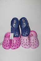 Детская дешевая летняя обувь. Детские кроксы от Super Gear 6125 (30-35)