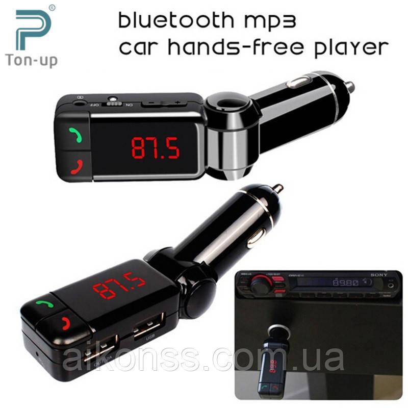 FM Трансмітер FM Модулятор 4в1 Bluetooth Hands Free
