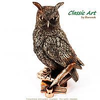 Статуэтка сова на книгах - символ мудрости Art ES433