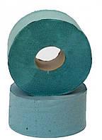 Туалетная бумага Джамбо зеленая 100 м.