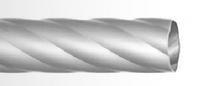 Труба крученая 16мм сатин-1,4м