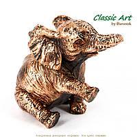 Фигурка играющего слона для счастья в личной жизни ES551