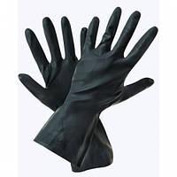 Перчатки рабочие резиновые КЩС Экстримал кислотощелочестойкие, фото 1
