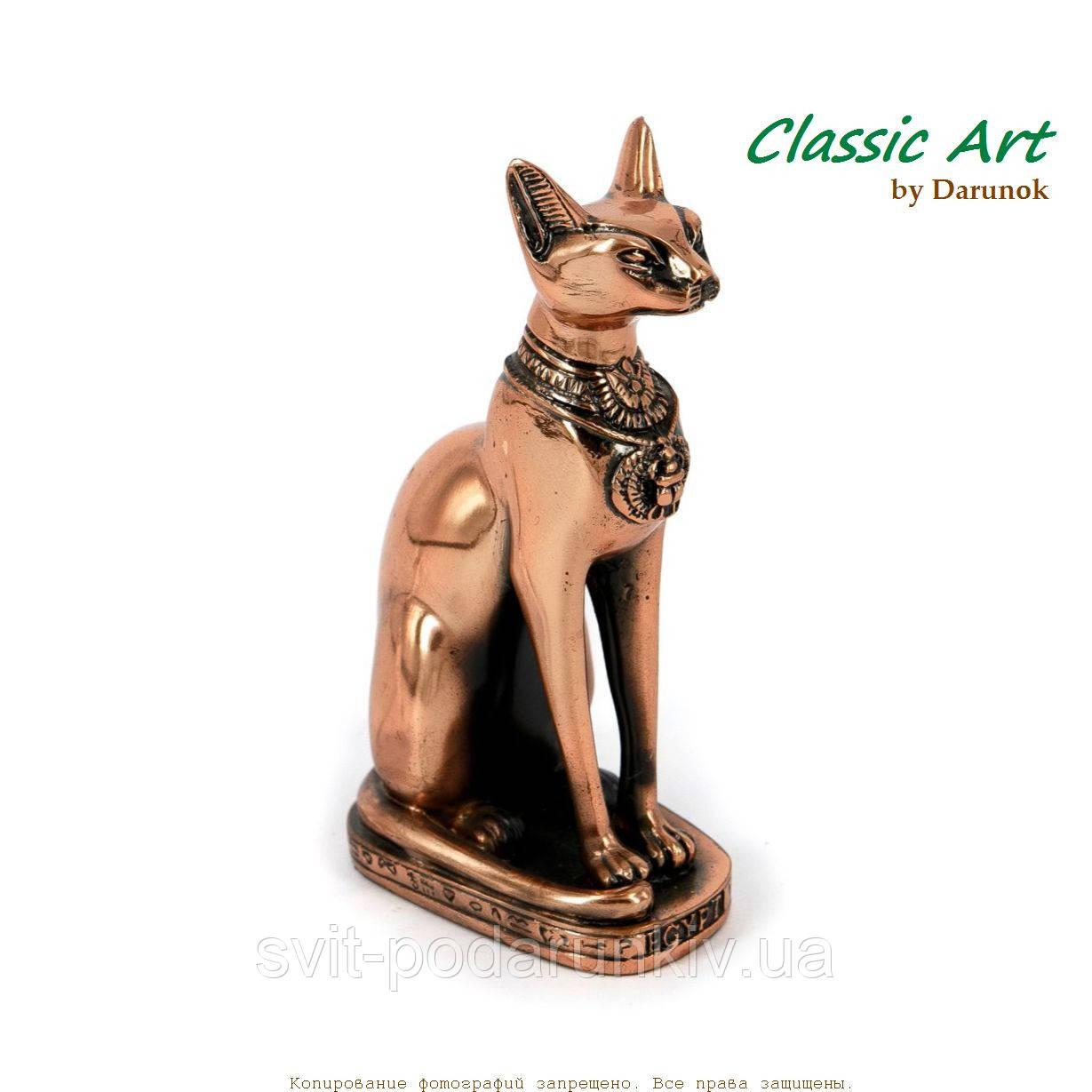 Сувенир египетской кошки приносящий радость и защищающий дом EES201