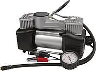 Миникомпрессор автомобильный двухпоршневой производительный (81-118)