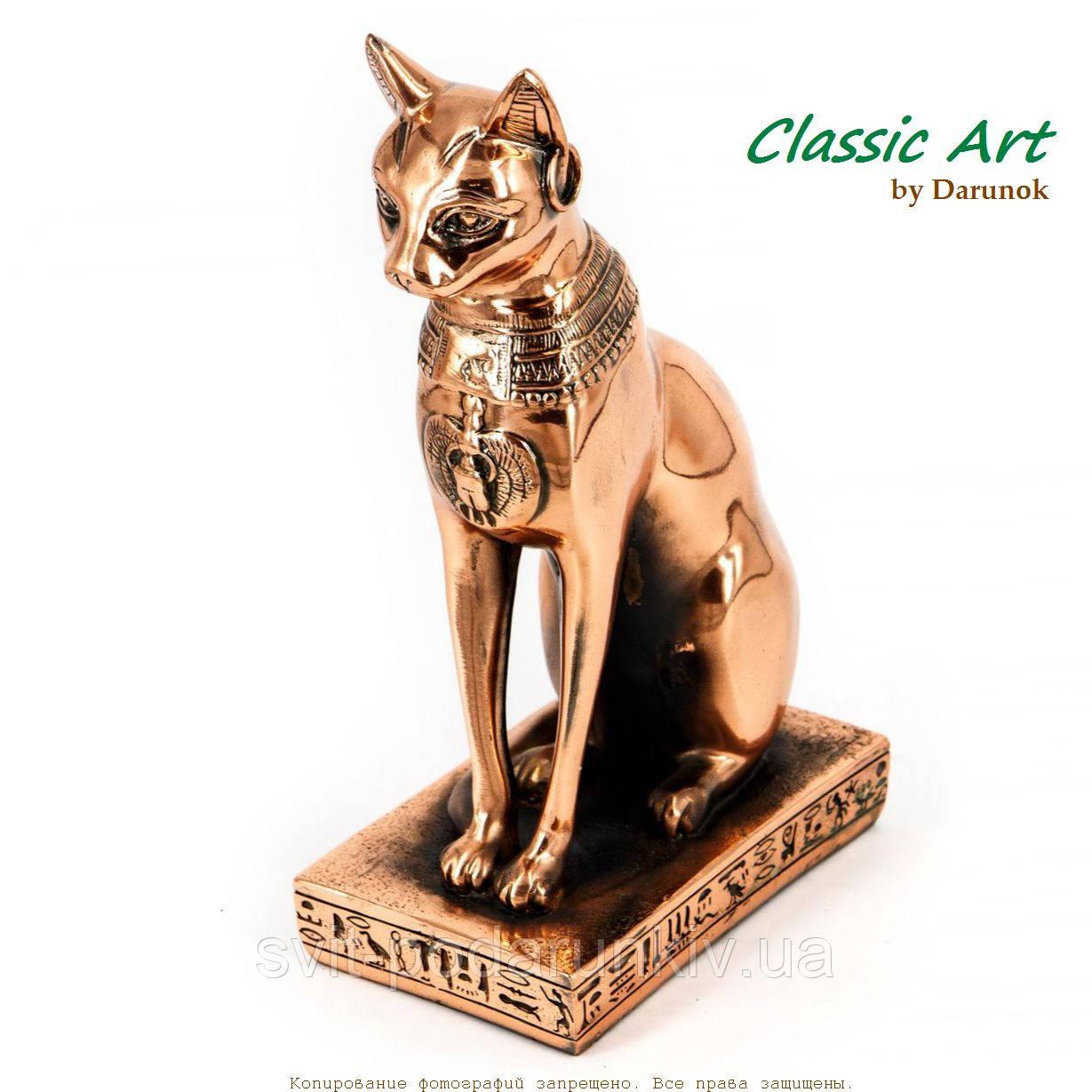 египетская кошка статуэтка