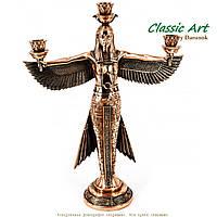 Статуэтки египетской богини Маат каминный подсвечник канделябр TS575