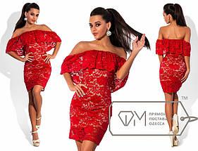 Короткое платье гипюр, фото 3