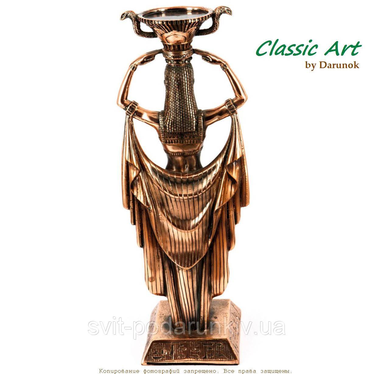 египетская фигурка подсвечник