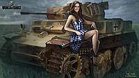 Вафельная картинка для тортов World of tanks- Мир танков 7