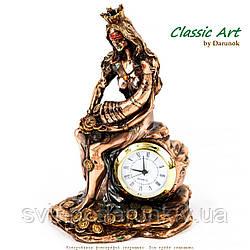 Часы настольные сувенирные статуэтка Фортуна богиня удачи TWS1388