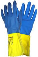 Перчатка кислотощелочестойкая резиновая К-80 Щ-50 женская в трех размерах , фото 1