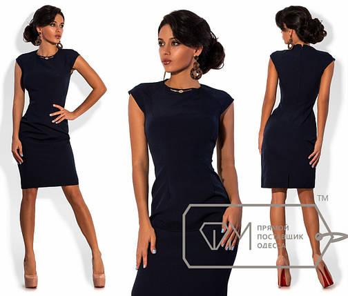 Приталенное платье до колен, фото 2