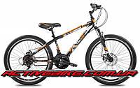 """Подростковый горный велосипед Crossride Flash 24""""., фото 1"""