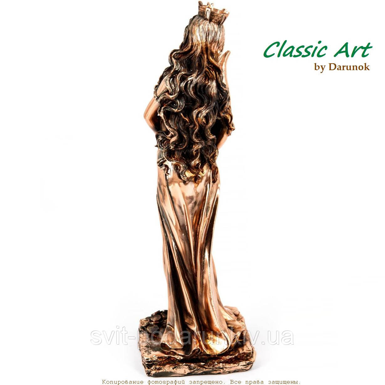 Статуэтка богини удачи Фортуны