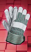 Защитные спилковые перчатки  RBCMPAS, фото 1