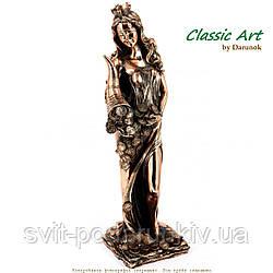 Статуэтка богиня Фортуна с рогом изобилия TS1043-2