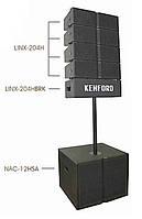 Акустическая система линейного массива LINX-204HF напольного типа, 1700W