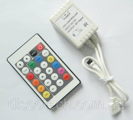 Полноцветный контроллер с пультом ДУ серии MAGIC IR24-HC