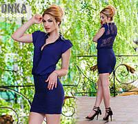 Стильное женское платье шифон