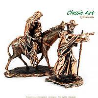 """Статуэтка Иисус Христос """"Бегство в Египет"""" религиозный сувенир TS869"""