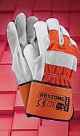 Перчатки рабочие усиленные RBSTONE, фото 1