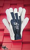 Рабочая  перчатки  RBTOPER  .Перчатки спилковые оптом
