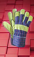 Рабочая  перчатки  RSC  .Перчатки спилковые оптом