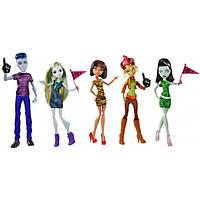 Набор из 5-ти кукол Монстр Хай Студенческий совет - We Are Monster High Student Disembody Council Doll Set