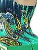 Яркий летний сарафан с поясом (38,40), фото 3