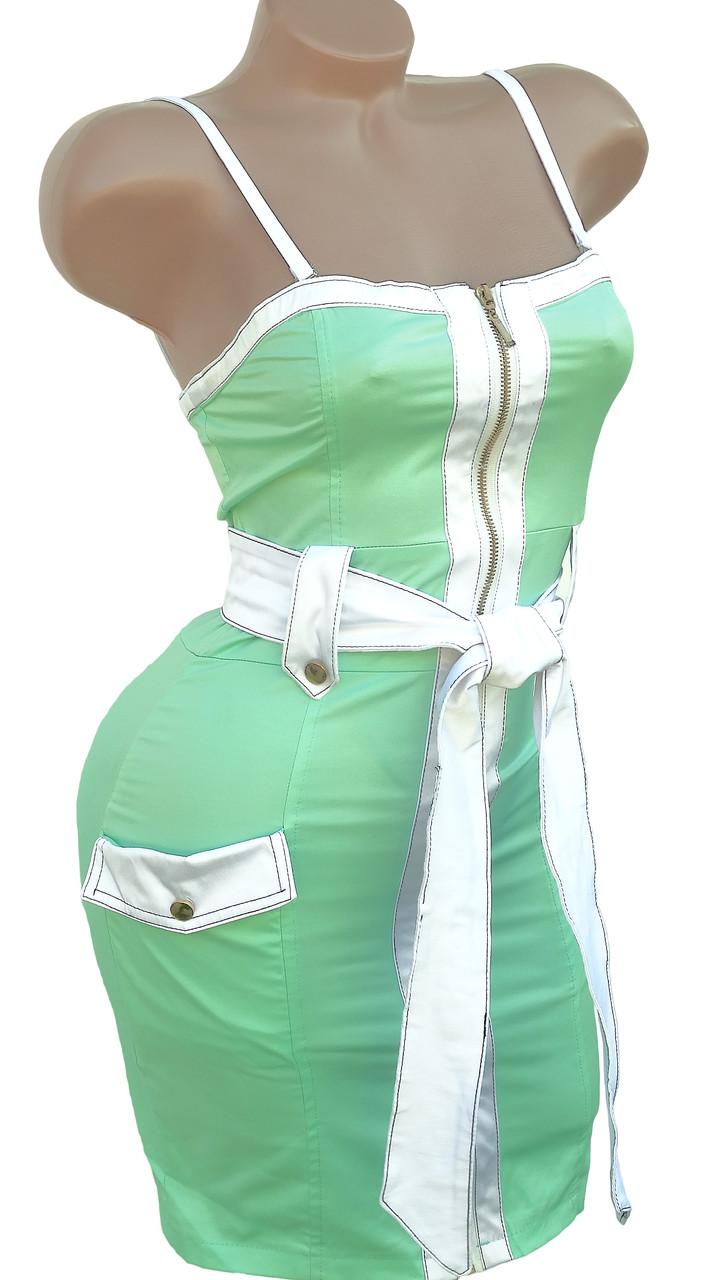 Модный женский сарафан-топ (42)