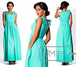 Платье с бантиками на плечах, фото 2