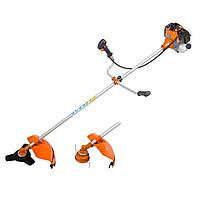 Бензокоса Электромаш БГ 3600 Professional в комплекте 3 ножа и 1 катушка , мощностью 3,3 кВт .