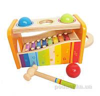 Детский ксилофон с шариками Hape AKT-E0305