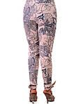 Белые брюки женские ,хлопок , бр 001-5., фото 2