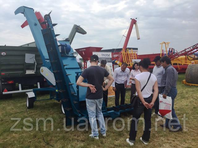 Успех зернометателя ПЗМ-170  на выставке AgriPlanta - RomAgroTec