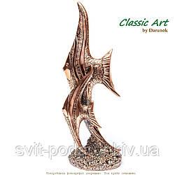 Статуэтка рыбы фигурка из полистоуна E366