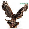 Статуэтка орла парящего в небе 24 см ES016A , фото 3