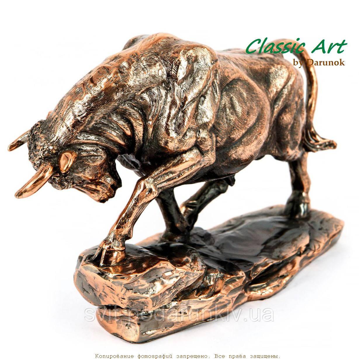 Статуэтка быка фигурка из полистоуна