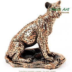 Статуэтка ягуара покровитель смелых и выносливых ES621