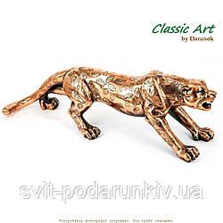Статуэтка леопарда священное животное процветания,скорости и бесстрашия ES430