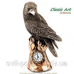 Статуэтка сокола настольные офисные часы с птицей приносящей превосходство,свободу ES190