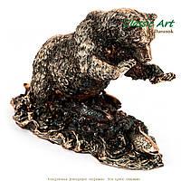 Статуэтка медведь - символизирует мужскую силу ES431