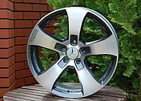 Литые диски R20 5x130 на авто Mercedes G гелик гелендваген W463 Brabus брабус AMG АМГ