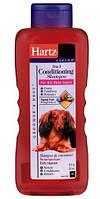 Hartz Шампунь с кондиционером для длинношерстных собак, 532мл