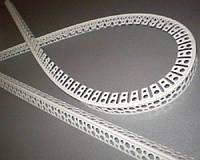 Угол арочный  пластиковый PCV 3,0м.